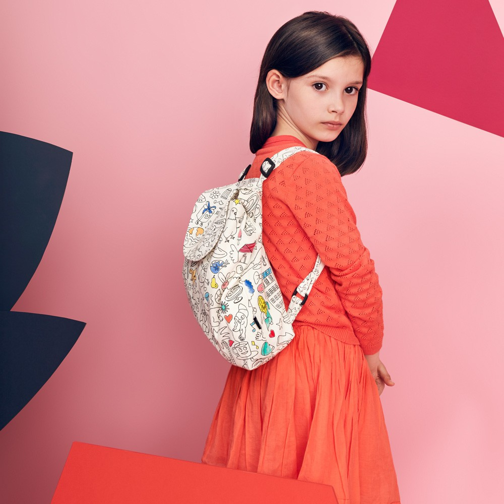 Omy Colour In Backpack -100% Cotton-product