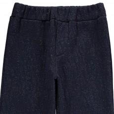 Blune Kids Gold Mine Lurex Textured Trousers-listing