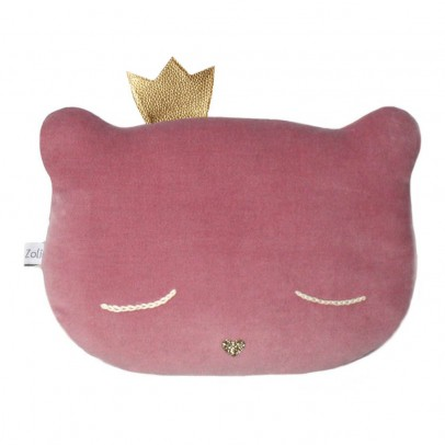 Caro & Zolie Cat Crown Cushion 28x20cm-product