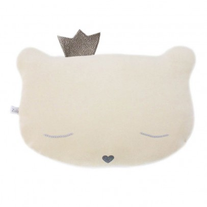 Caro & Zolie Cat Crown Cushion 28x20cm-product