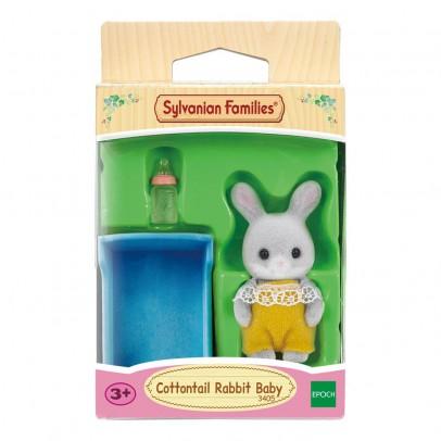 Sylvanian Bébé lapin gris-listing