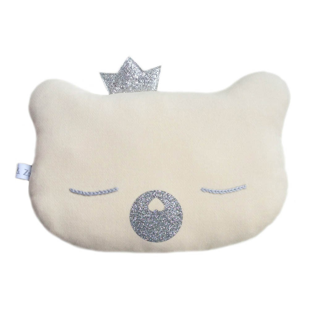 King Bear Cub Cushion 28x23cm-product