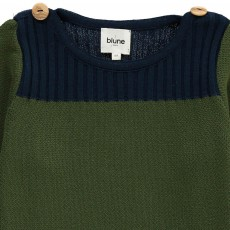 Blune Kids Borderline Buttoned Shoulder Jumper-listing