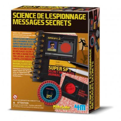 4M Kit science de l'espionnage et messages secrets-listing