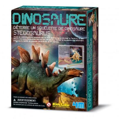4M Kit déterre ton dinosaure Stégosaure-listing