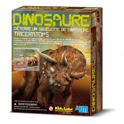 4M Kit déterre ton dinosaure Tricératops-listing