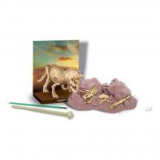 4M Kit destierra tu dinosaurio Triceratops-listing