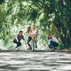 Penny Skateboard Classic 22' Rojo-listing