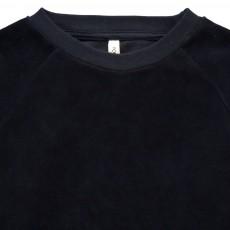 POPUPSHOP Sweat Velours  Coton Bio-listing