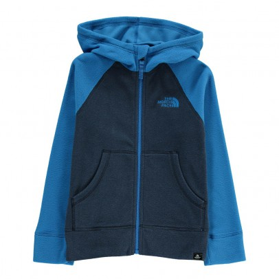 The North Face Polaire Zippée Bicolore Glacier-listing