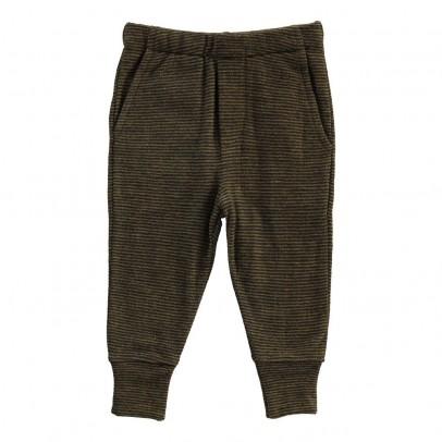 Gold Belgium Bowen Striped Trousers-listing