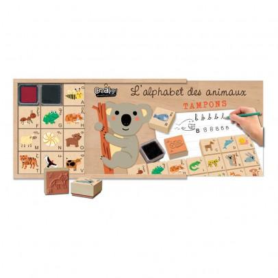 Crea lign' Alphabet Animal Stamps Set-listing