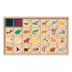Crea lign' Stempelset Tiere- Alphabet -listing