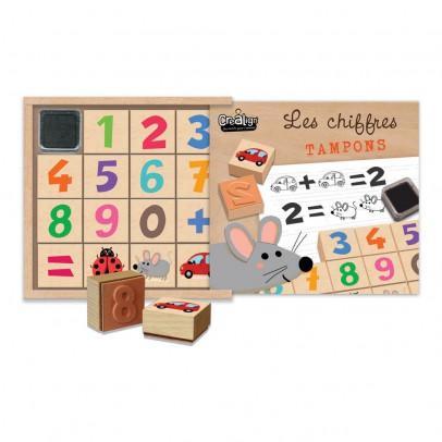 Crea lign' Number Stamps Set-listing