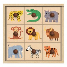 Crea lign' Caja sellos los animales de la selva-listing