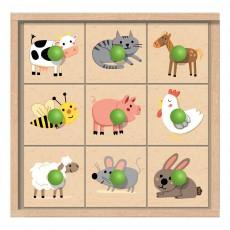 Crea lign' Caja sellos los animales de la granja-listing