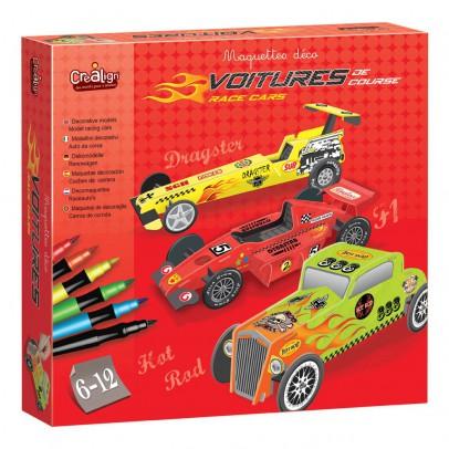 Crea lign' Maquetas deco coches de carrera-listing