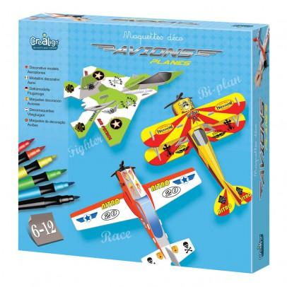 Crea lign' Maquetas deco aviones-listing
