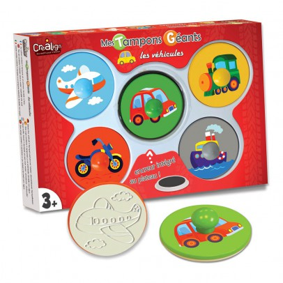 Crea lign' Giant Vehicle Stamps-listing