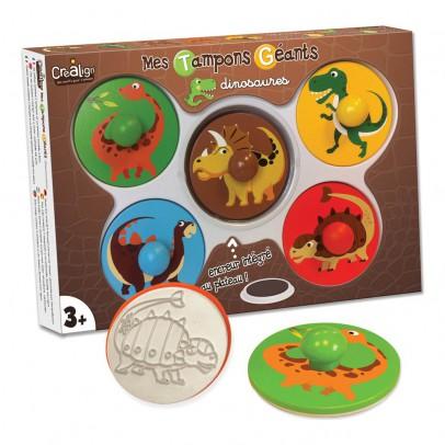Crea lign' Mis sellos gigantes los dinosaurios-listing