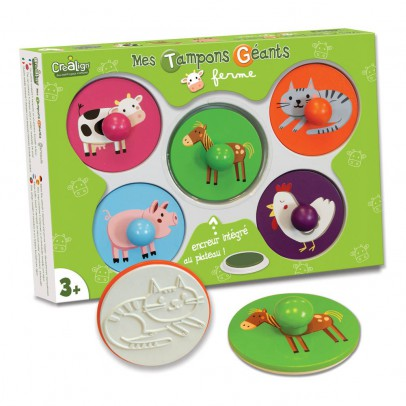 Crea lign' Giant Farm Stamps-listing