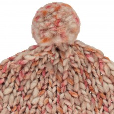 Babe & Tess Large Knit Wool Pompom Beanie-listing