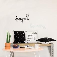 Chispum Sticker fosforescente Bonjour, Bonsoir-listing