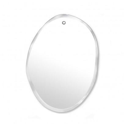 M Nuance Miroir extra plat biseauté - forme aléatoire ovale verticale-listing