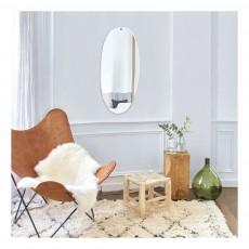 M Nuance Miroir extra plat biseauté - forme aléatoire rectangulaire-listing