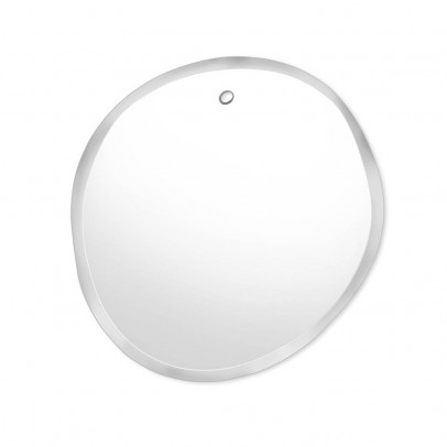 M Nuance Extra Thin Bevelled Mirror - Random Round Form 32x33 cm -listing