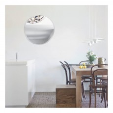 M Nuance Extra Thin Bevelled Mirror - Random Round Form 47x50 cm -listing