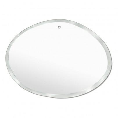 M Nuance Miroir extra plat biseauté - forme aléatoire  ovale horizontale 55x40 cm-listing