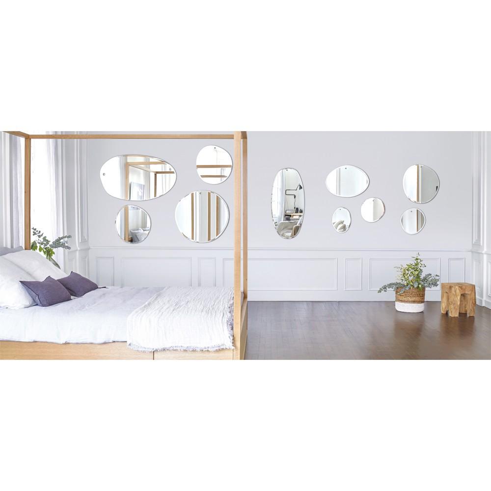 M Nuance Miroir extra plat biseauté - forme aléatoire  ovale horizontale100x60 cm-product