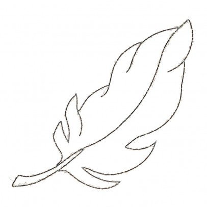 Zoé Rumeau Light up Feather Sculpture-listing