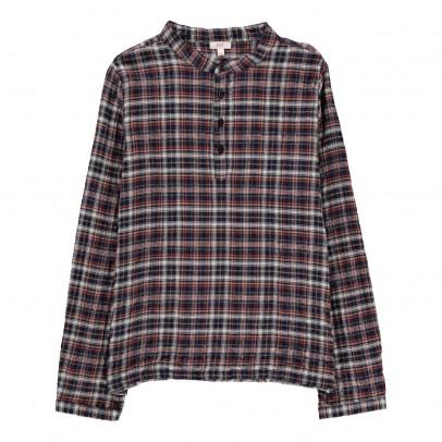 Zef Checked Davis Kurta Shirt-listing