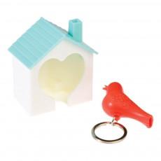 Rex Hütte und Schlüsselanhänger Vögel -listing