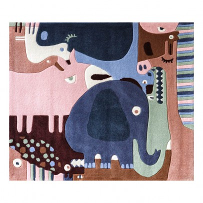 Art For Kids Tapis puzzle animals-listing