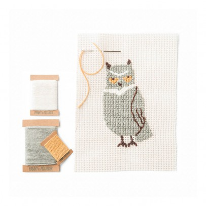 Fanny and Alexander Cross Stitch Owl Set-product