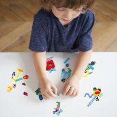 Omy Stickers da muro Robot - 100 Stickers-listing