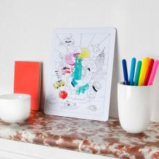 Omy Puzzle da colorare New York City-listing