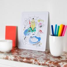 Omy Puzzle à colorier Fantastic-product
