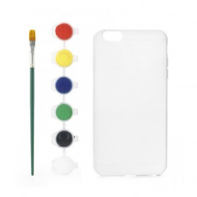 Kikkerland Cover personalizzabile da dipingere per Iphone 6 plus-listing