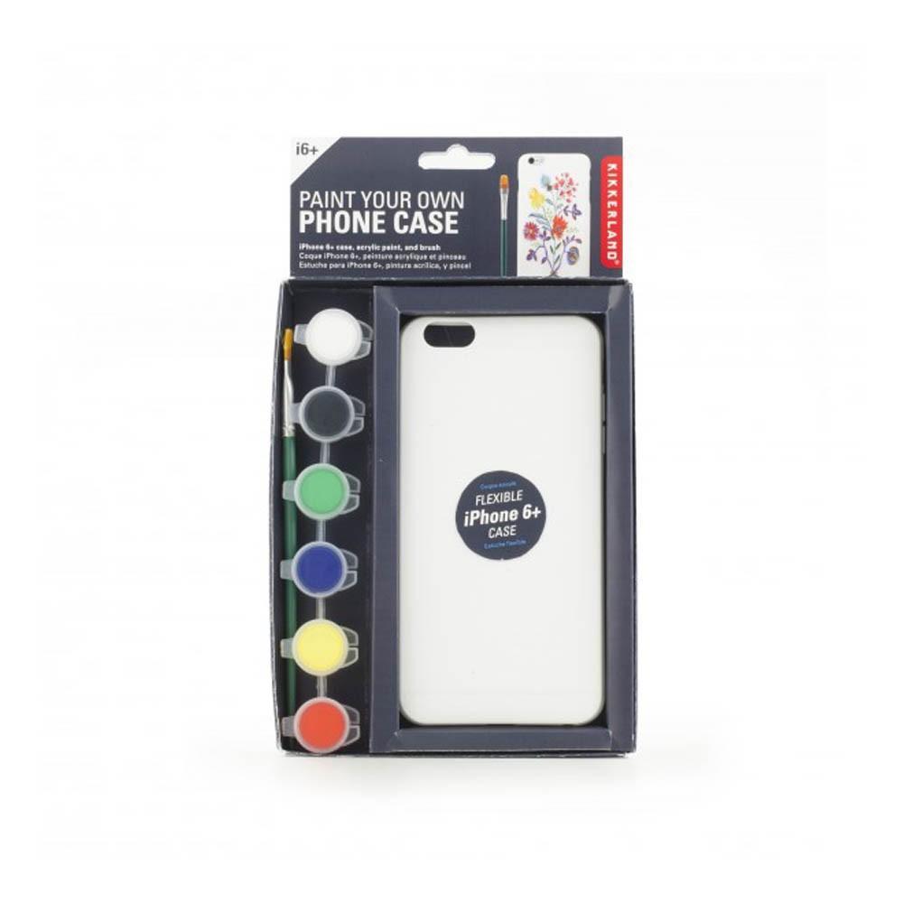 Kikkerland iPhone 6 Plus Paintable Personalised Case-product