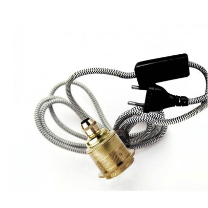 Smallable Home Brass Case Ceiling Light with 3m plug-product