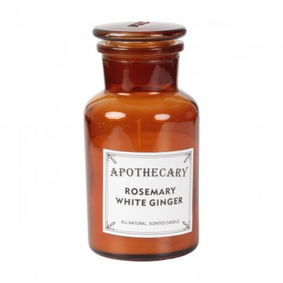 Smallable Home Bougie apothicaire romarin et gingembre blanc 200g-listing