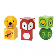 product-Brio Magnetic Forest Animals