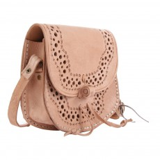 April Showers Leather Shoulder Bag - Anita-listing