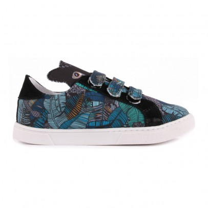 Twins for peace Zapatillas Denim Velcro x Milk on the Rocks-listing