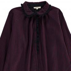 Caramel Verdite Stripe Dress-listing