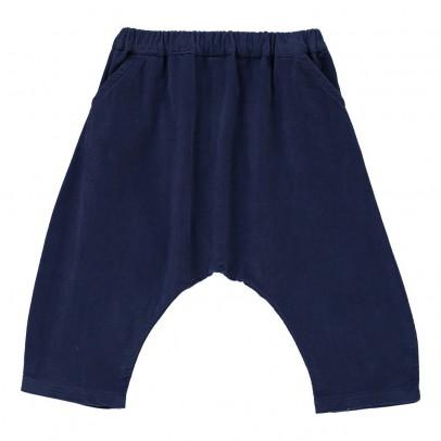 Poppy Rose Totsie Ribbed Velvet Harem Trousers-listing